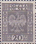 [Coat of Arms of Poland - Vertical Lines in Background, type CL3]
