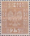 [Coat of Arms of Poland - Vertical Lines in Background, type CL4]