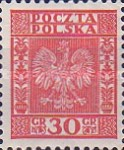 [Coat of Arms of Poland - Vertical Lines in Background, type CL5]