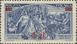 [Overprints due to Redefined Postal Rates, type CZ]