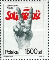 [The 10th Anniversary of Solidarnosc, type DDL]