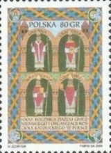 [The 1000th Anniversary of the Congress of Gniezno and Organisations of the Catholic Church in Poland, type DXT]