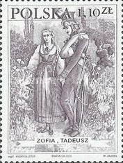 [Heroes from Pan Tadeusz, type DZB]