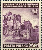 [Portrayal of Poland in Ruins - The Polish Army in Great Britain, type EX]