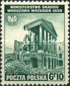 [Portrayal of Poland in Ruins - The Polish Army in Great Britain, type EY]