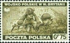 [Portrayal of Poland in Ruins - The Polish Army in Great Britain, type FB]