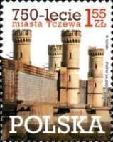 [The 750th Anniversary of the City of Tczew, type GEZ]