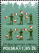 [The 100th Anniversary of Scouting in Poland, type GFE]