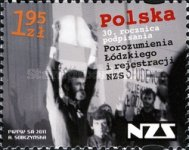 [The 30th Anniversary of the Lodz Agreement, type GFX]