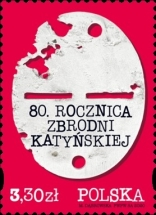[The 80th Anniversary of the Katyn Massacre, type IGK]