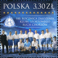 [The 100th Anniversary of the Ruch Chorzów Sports Club, type IGM]