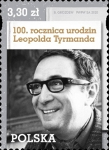 [The 100th Anniversary of the Birth of Leopold Tyrmand, 1920-1985, type IGQ]