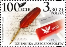 [The 100th Anniversary of the Rzeczpospolita Daily Newspaper, type IGU]