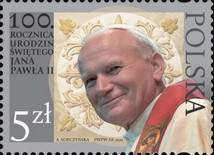 [The 100th Anniversary of the Birth of John Paul II, 1920-2005, type IID]