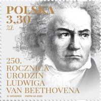 [The 250th Anniversary of the Birth of Ludwig van Beethoven, 1770-1827, type IJB]