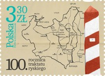 [The 100th Anniversary of the Treaty of Riga, type IJO]