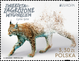 [EUROPA Stamp - Endangered National Wildlife, type IJY]