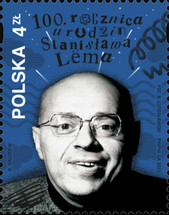 [The 100 Anniversary of the Birth of Stanislaw Lem, 1921-2006, type ILL]