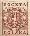 [As Previous - Imperforated South Poland Issues Denomination in Halerzy, type S4]