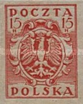 [As Previous - Imperforated South Poland Issues Denomination in Halerzy, type S7]