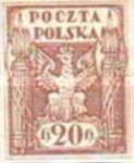 [As Previous - Imperforated South Poland Issues Denomination in Halerzy, type T3]
