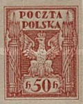 [As Previous - Imperforated South Poland Issues Denomination in Halerzy, type T5]