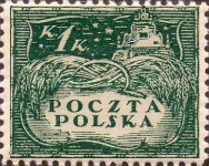 [South Poland Issues - Denomination in Korony, type U]