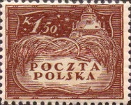 [South Poland Issues - Denomination in Korony, type U1]