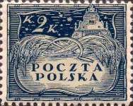 [South Poland Issues - Denomination in Korony, type U2]