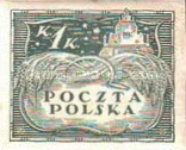 [As Previous - Imperforated South Poland Issues Denomination in Korony, type U3]