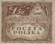 [As Previous - Imperforated South Poland Issues Denomination in Korony, type U4]