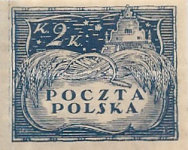 [As Previous - Imperforated South Poland Issues Denomination in Korony, type U5]