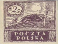 [As Previous - Imperforated South Poland Issues Denomination in Korony, type V1]