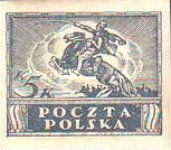 [As Previous - Imperforated South Poland Issues Denomination in Korony, type W1]