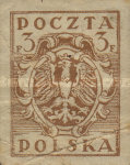 [As Previous - Imperforated North Poland Issues Denomination in Fenigów, type X4]