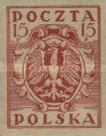 [As Previous - Imperforated North Poland Issues Denomination in Fenigów, type X7]