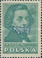 [Polish Culture Issue of 1947 Overprinted