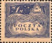 [North Poland Issues - Denomination in Marek, type Z]