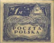 [As Previous - Imperforated North Poland Issues Denomination in Marek, type Z3]