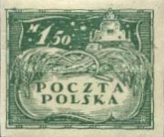 [As Previous - Imperforated North Poland Issues Denomination in Marek, type Z4]