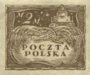 [As Previous - Imperforated North Poland Issues Denomination in Marek, type Z5]