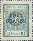[Polish Postage Stamps Overprinted