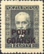 [Polish Postage Stamp Overprinted