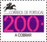 [Numeral Stamps with Portugal Post Logo - Inscription