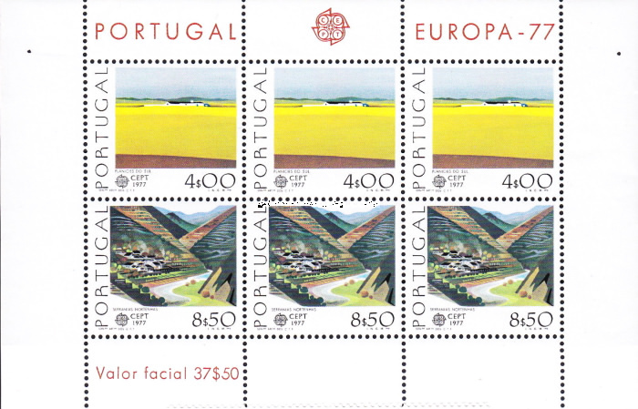 [EUROPA Stamps - Landscapes, Typ ]