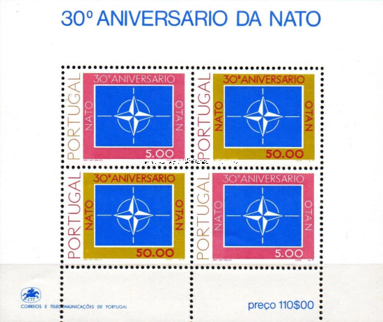 [The 30th Anniversary of NATO, Typ ]