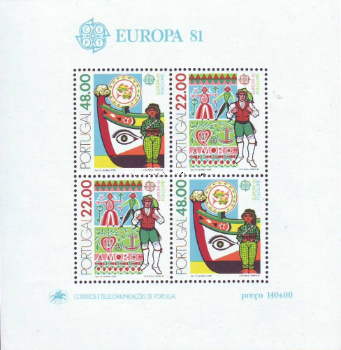 [EUROPA Stamps - Folklore, Typ ]