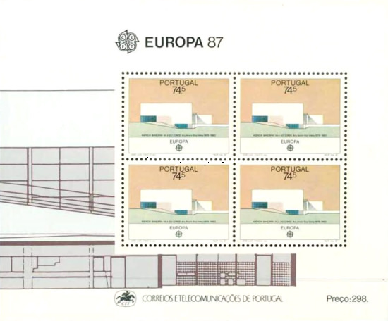 [EUROPA Stamps - Modern Architecture, Typ ]