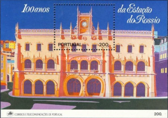 [The 100th Anniversary of the Rossio Railway Station in Lisbon, Typ ]