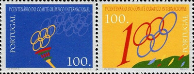 [The 100th Anniversary of the International Olympic Committee, Typ ]